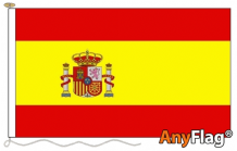 SPAIN CREST ANYFLAG RANGE - VARIOUS SIZES